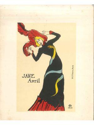 Jane Avril by Henri de Toulouse Lautrec - Modern Artwork