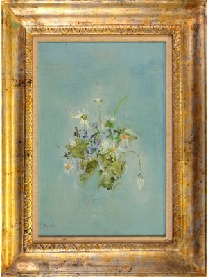 Violets And Daisies by Rosetta Acerbi - Contemporary Artwork
