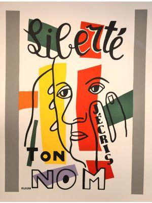 Liberté, j'écris ton nom by Fernand Leger - Contemporary Artwork