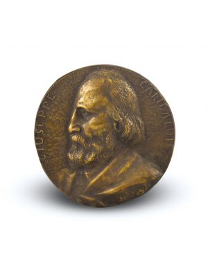 Garibaldi's Portrait by Anonymous - Decorative Object