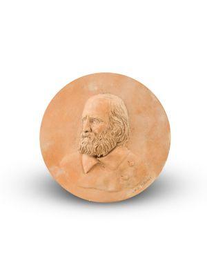Giuseppe Garibaldi Portrait by Anonymous - Decorative Object