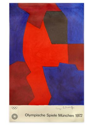 Munich Olympic Games by Serge Poliakoff - Contemporary Artwork