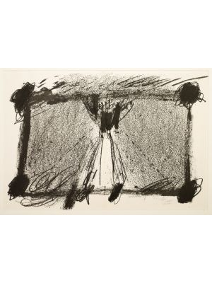In Two Black by Antoni Tapies - Contemporary Artworks