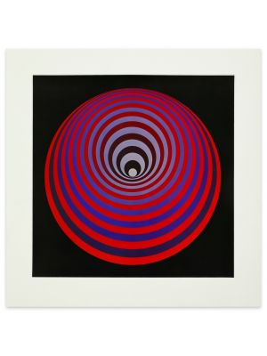 Oervegn by Victor Vasarely - Contemporary Artwork