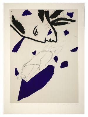Senza Titolo by Mimmo Paladino - Contemporary Artwork