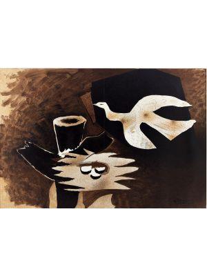 L'Oiseau et son Nid by Georges Braques - Contemporary Artwork