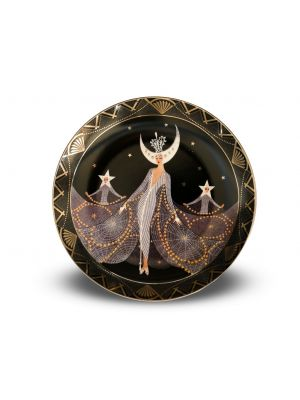 Queen of the Night Plate by Ertè - Decorative Object