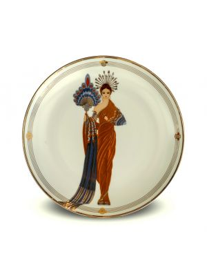 Athena Plate  by Ertè - Decorative Object