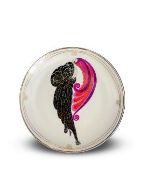 Beauty and the Beast Plate by Ertè - Decorative Object