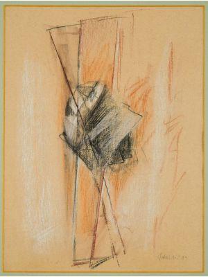 Abstract Composition by Claudio Palmieri - Contemporary Artwork