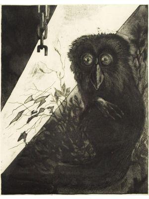 Owl by Leo Guida - Contemporary Artwork