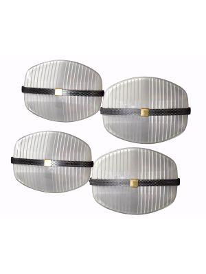 Set of Four Lambda Appliques by Vico Magistretti - Design Lamps