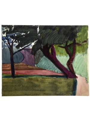 Peaceful Landscape by Jean Chapin - Modern Artwork