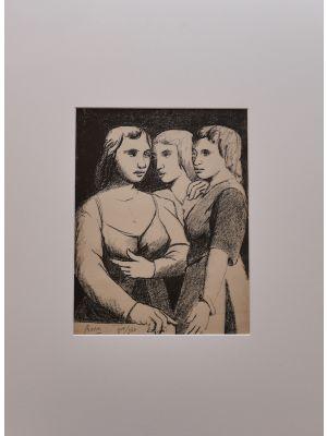 Tre Gemelli  by the artist Pompeo Borra - Contemporary Artwork