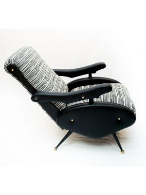 Vintage Reclining Armchair - Design Furniture