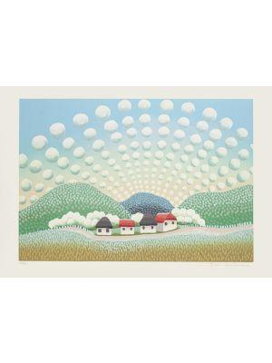 Happy Village realized by Ivan Rabuzin - Modern Artwork