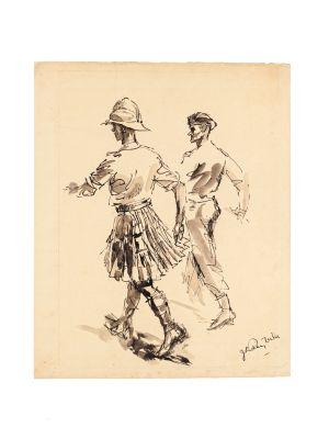 Soldiers by José Luis Rey Vila - Modern Artwork
