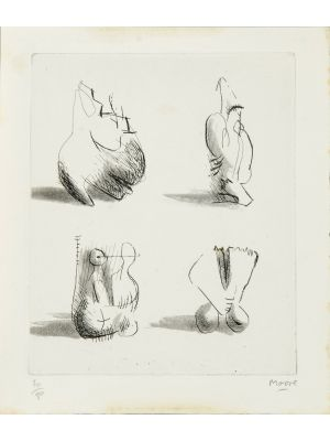 Composition by Henry Moore - Contemporary artwork