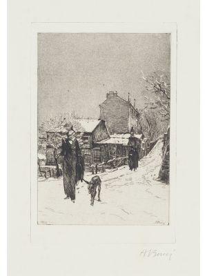 Sotto la neve by Anselmo Bucci