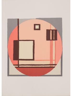 Composition C.Q.R. by Mario Radice - Contemporary artwork