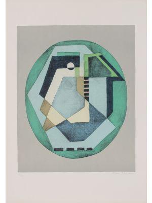 Composition C.Q.R.2 by Mario Radice - Contemporay Artwrok