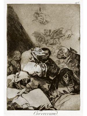Correccion by Francisco Goya - Old Master Artwork
