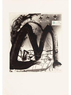 23 F by Antoni Tàpies - Contemporary Artwork