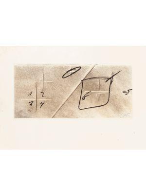 Division by Diagonal by Antoni Tàp - Contemporary Artwork