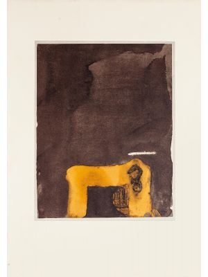 Paint and Number 3 by Antoni Tàpies - Contemporary Artwork