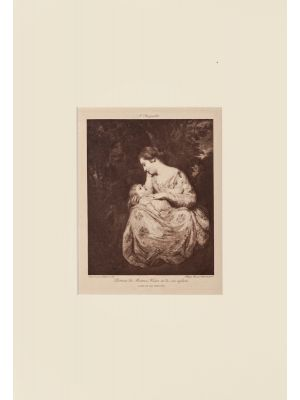 Mother and Child by P. Reynolds - Old Master Artwork