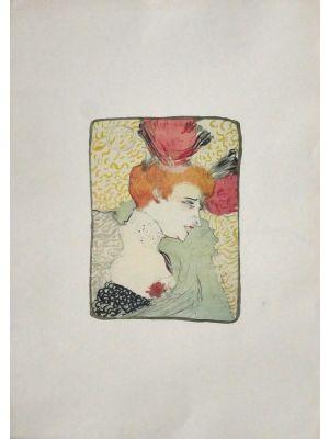 Woman by Henri de Toulouse-Lautrec - Modern Artwork