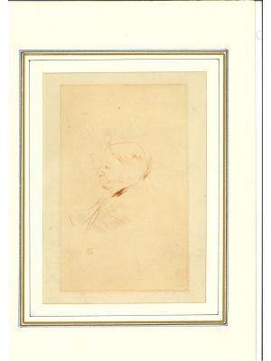 Portrait of Monsieur X (Arthur Meyer?) by Henri de Toulouse-Lautrec