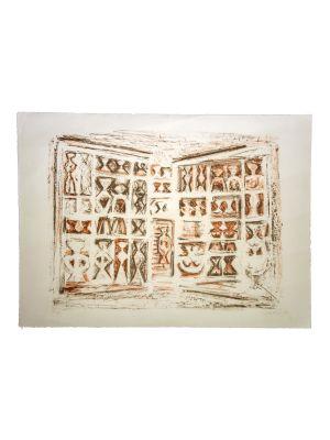 Windows by Massimo Campigli - Modern artwork