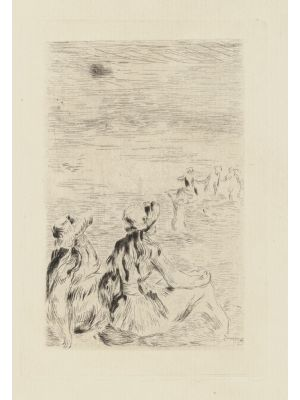 Women Figures is an original print realized by Pierre-Auguste Renoir.