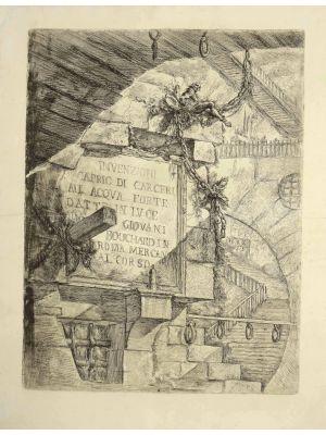 Carcere D'Invenzione by Giovan Battista Piranesi - Contemporary Artwork