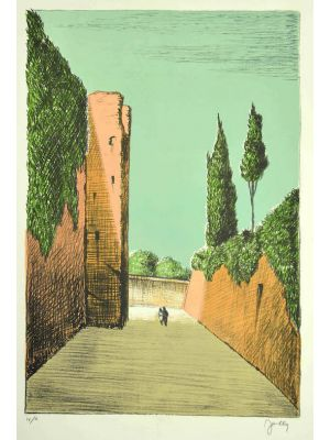 Roman Street by Fabio Failla - Modern Artwork