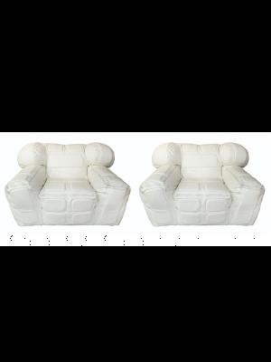 White armachairs by Arik Ben Simhon - Design Furniture