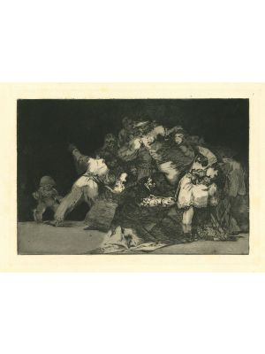 Disparate general - from Los Proverbios by  Francisco Goya - Old Master artwork