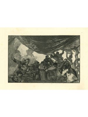 Disparate claro - from Los Proverbios by  Francisco Goya - Old Master artwork