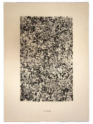 Gravelle by Jean Dubuffet - Modern Artwork