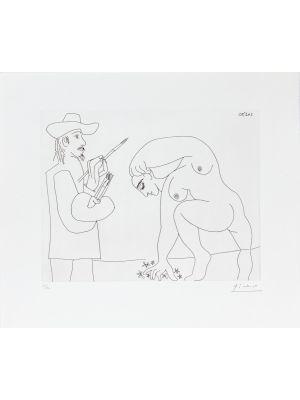 24 mai 1970 by Pablo Picasso - Modern Artwork