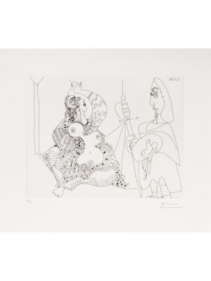 12 mai 1970 by Pablo Picasso - Modern Artwork