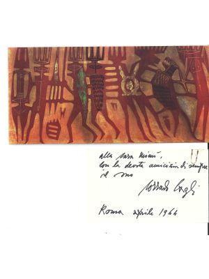 Corrado Cagli - Il Disegno Moderno - Manuscripts