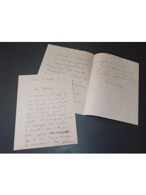 Enrico Paulucci - Autographs by Paulucci - Manuscript