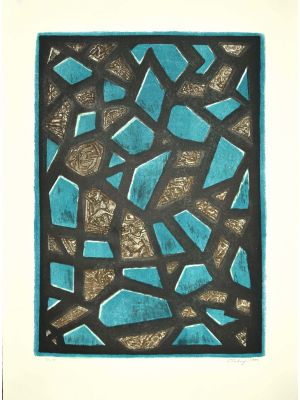 Abstract Composition by Mark Tobey - Contemporary Artwork