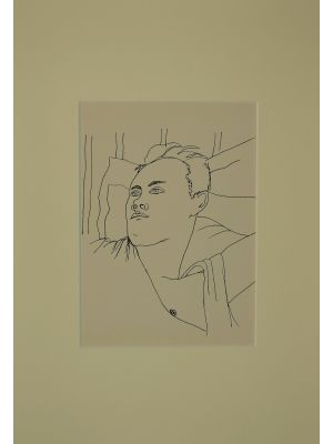Young Boy by Jean Cocteau - Contemporary Artwork