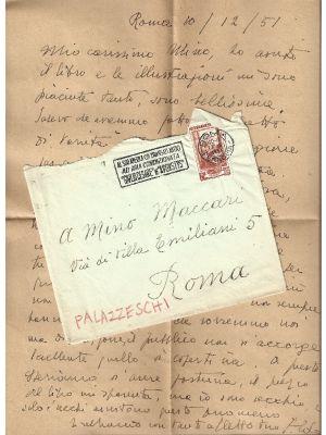 Aldo Palazzeschi - Bestie del Novecento - Autograph - Manuscripts
