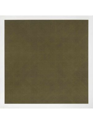Brown lines in four directions on colour by Sol Lewitt - Contemporary Artwork