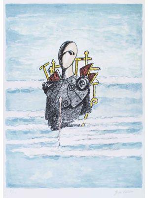Trovatore tra le nubi by Giorgio de Chirico - Surrealism