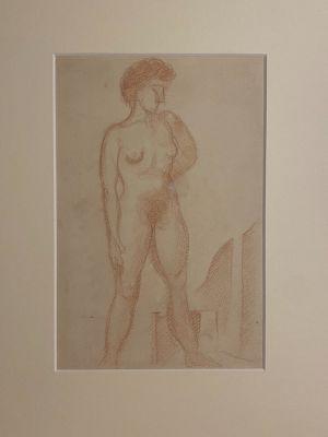 Nude by Jean-Raymond Delpech - Artwork